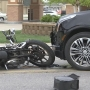 Motorcycle driver OK after Ottumwa crash