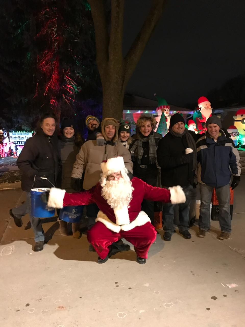 Raising Money for the MACC Fund at Candy Cane Lane<p></p>