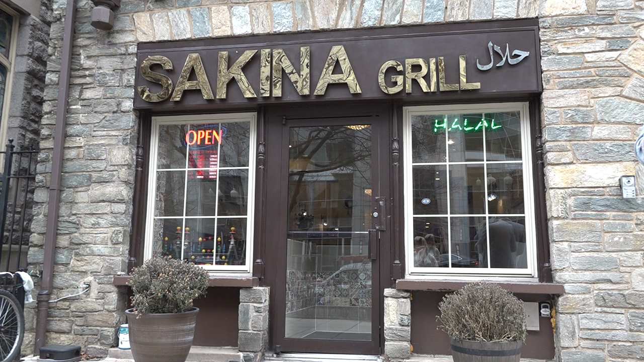 Sakina Halal Grill is located just blocks from the White House. (Caroline Patrickis/ABC7)
