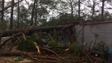 Homes destroyed by severe weather in Sylvester