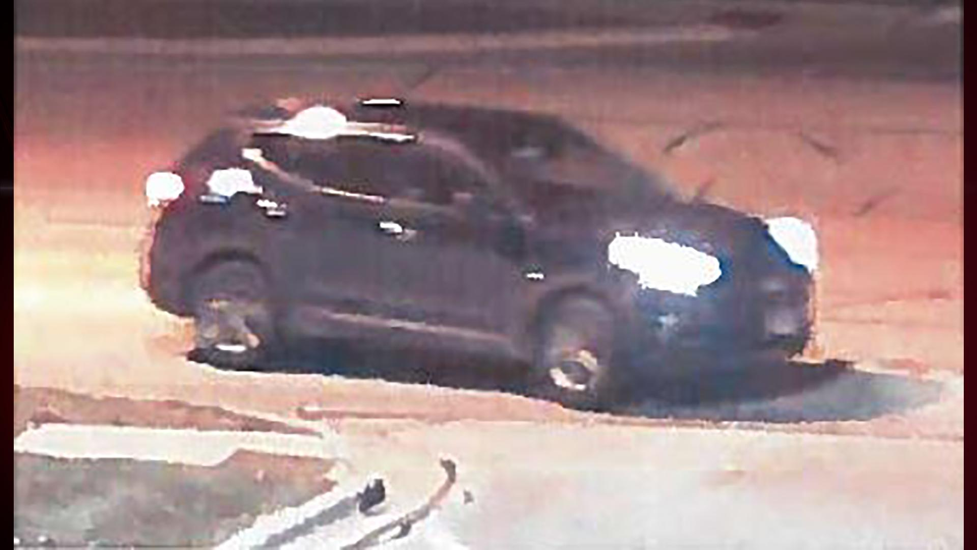 A surveillance image of a suspect vehicle involved in a card skimming incident at Woodman's store in Howard, November 19, 2017. (Photo courtesy of Brown County Sheriff's Office)
