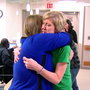Woman seriously injured year ago returns to hospital to thank team who saved her