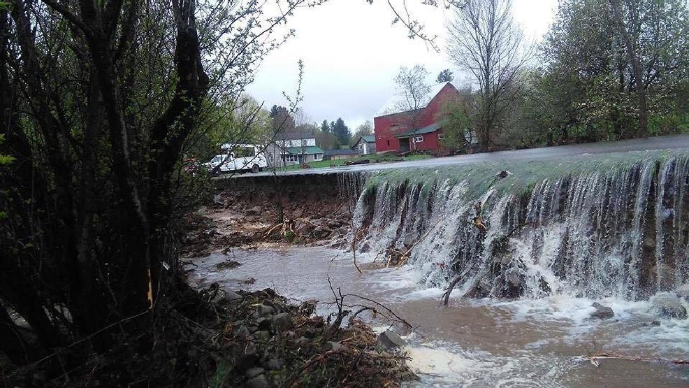 Beaver dam break creates flooding, shuts down roads in ...