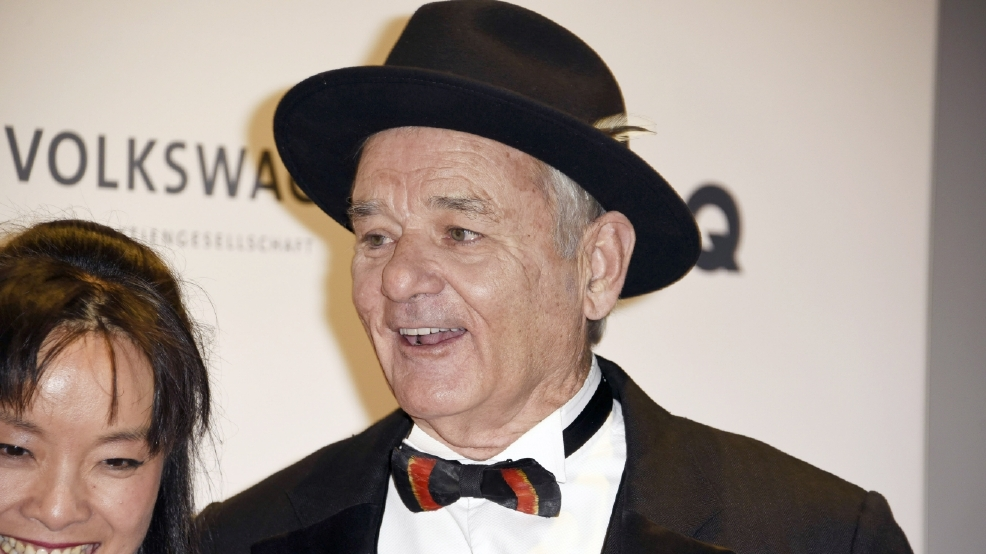 Video: Bill Murray sings 'Happy Birthday' to 94-year-old at Baylor basketball game