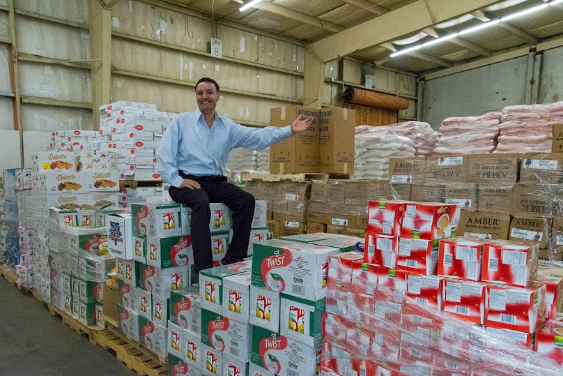 Moussa Elmoussa, owner of Gyros House in Renton's The Landing, made one phone call to his suppliers about donating to the Salvation Army. In one day he raise $20k in food donations. (Image: Tony Leonhardt)
