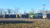 18-wheeler crash eastbound on Interstate 10 in Jefferson County