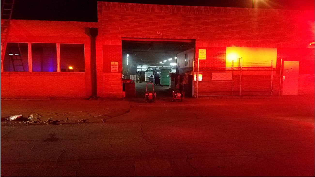 TFD: Superior Linen Service fire in midtown Tulsa (KTUL)