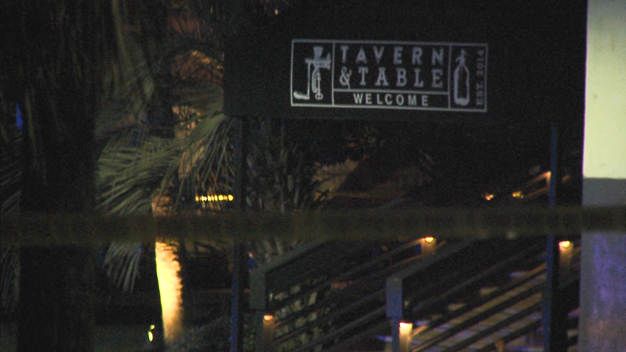 An employee of Tavern & Table restaurant was shot in an armed robbery on Wednesday night in Mount Pleasant (WCIV)
