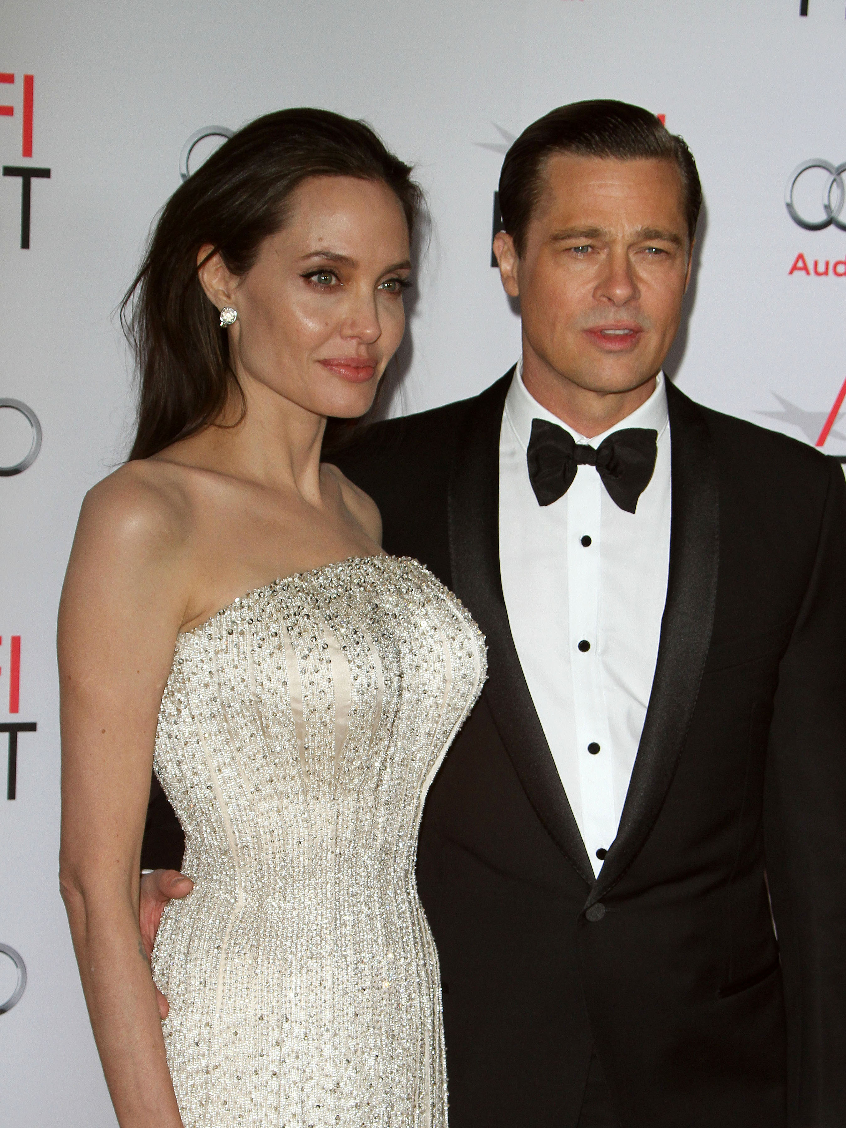 "AFI FEST 2015 Presented By Audi Opening Night Gala Premiere Of Universal Pictures' ""By The Sea""  Featuring: Angelina Jolie Pitt, Brad Pitt Where: Hollywood, California, United States When: 06 Nov 2015 Credit: FayesVision/WENN.com"