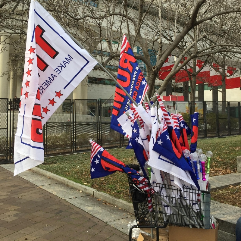 Trump Inauguration Day United States Of America USA Flag DT Sweatshirt Hoodie