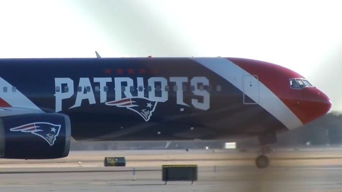 The New England Patriots returned home Monday, Feb. 5, 2018, after a 41-33 Super Bowl loss to the Philadelphia Eagles. (WJAR)<p></p>