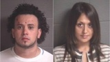 Man, woman charged with having almost 2 pounds of meth