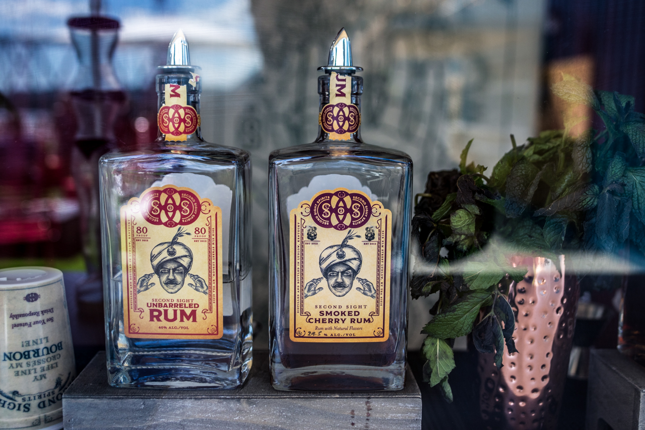 Second Sight Distillery is a Ludlow-based distillery that focuses on rum, bourbon & moonshine. / Image: Catherine Viox // Published: 6.25.20