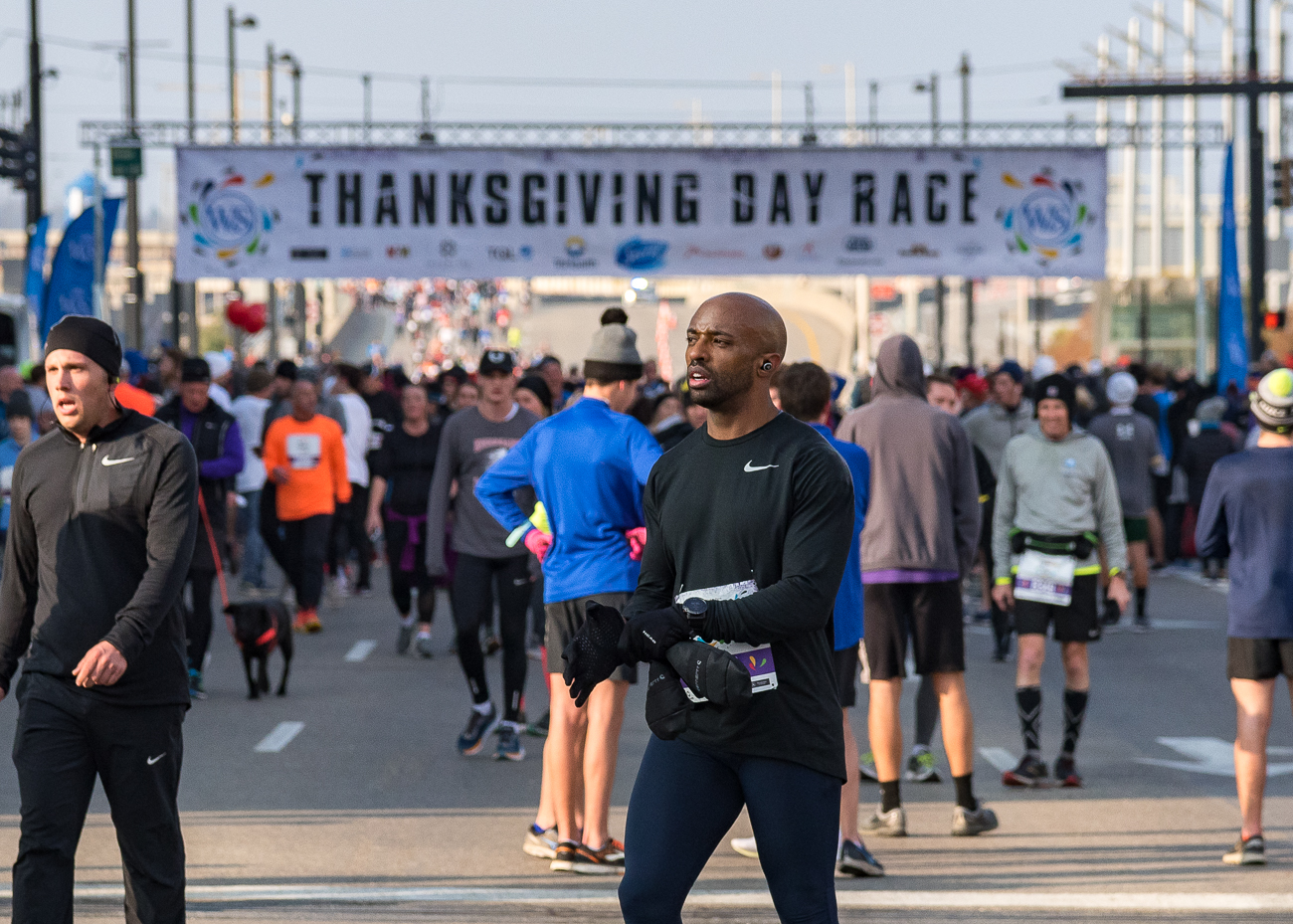 The 109th Annual Western and Southern Thanksgiving Day 10K Run/Walk was held on Thursday, Nov. 22, 2018. / Image: Phil Armstrong, Cincinnati Refined // Published: 11.23.18