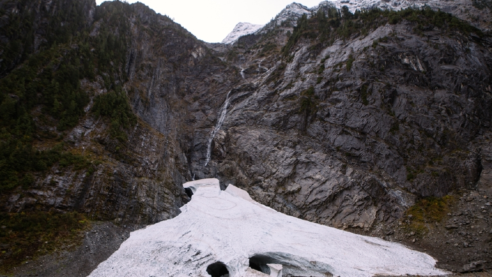 2 Safe Following Rock Slide Near Big Four Ice Caves
