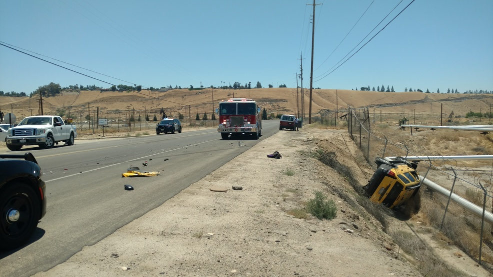 Bfd 1 Suffers Minor Injuries In Rollover Crash On China