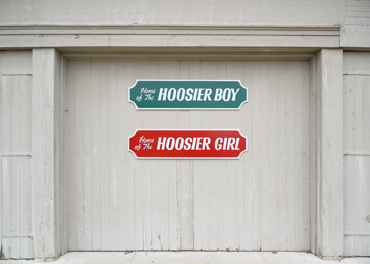The Ohio County Historical Museum is home to two famous boats: the Hoosier Boy and Girl. / Image: Phil Armstrong, Cincinnati Refined // Published: 1.7.20