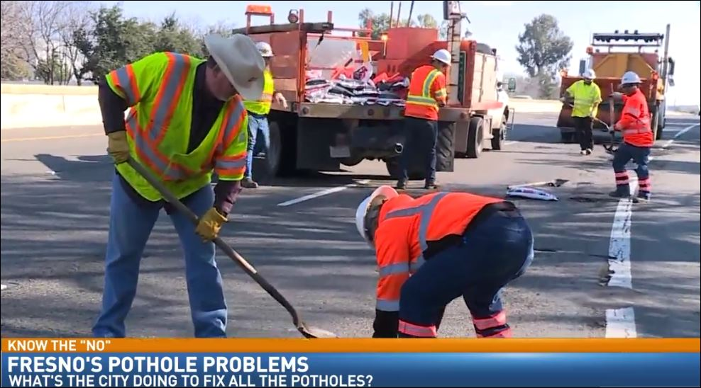 Director of Communications and Public Affairs for the City of Fresno, Mark Standriff talked about the plan to deal with the high number of potholes in the city.