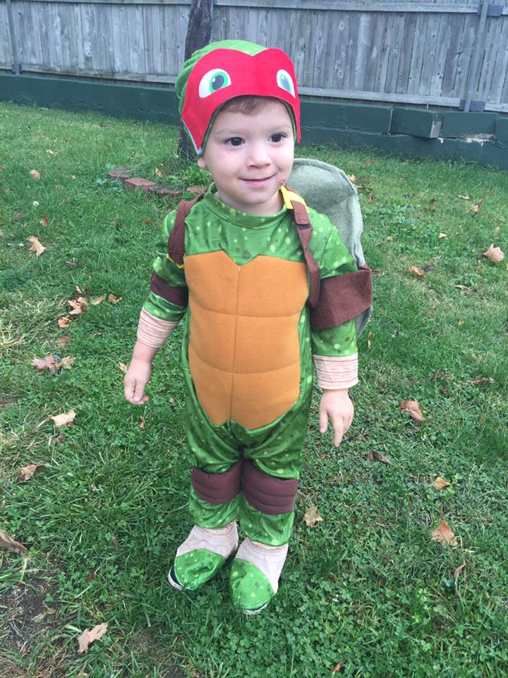 Teenage Mutant Ninja Turtle Raphael. Submitted by Angie Smith