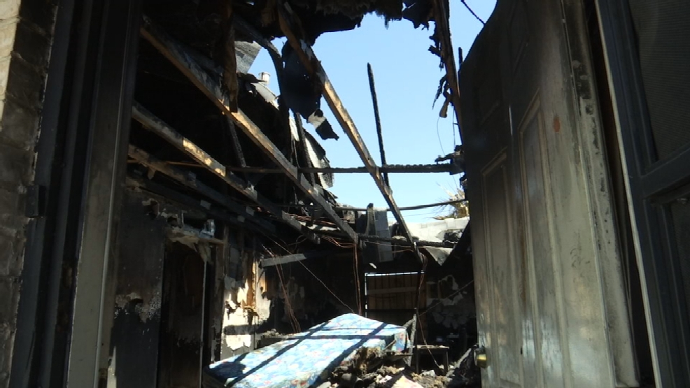 el paso families salvage what they can after fire destroys