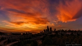 Photos: Seattle's spectacular summer swan song sunset