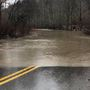 Several roads closed for high water, rock slides