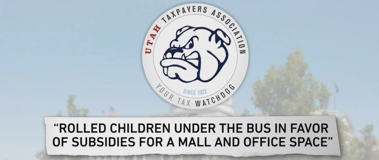 "<p>When these tax incentives were originally debated in 2014, the Utah Taxpayers Association, a nonprofit watchdog group, had this to say: ""[We have] concluded that almost all of the economic activity that would occur on the property would otherwise occur in the greater community without a subsidy."" (Photo: KUTV)</p>"