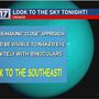 Uranus visible to the naked eye across the US