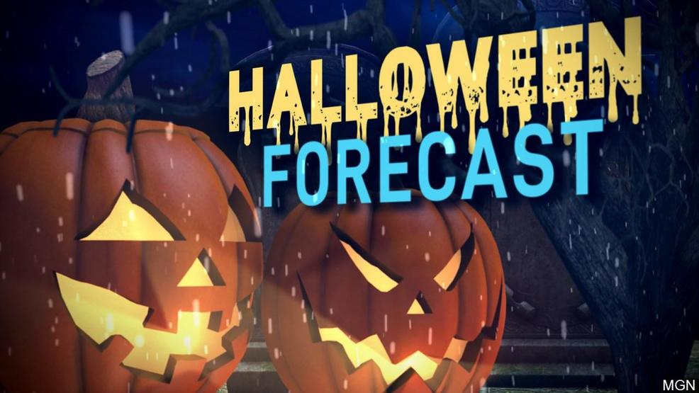 Halloween will be showery and breezy
