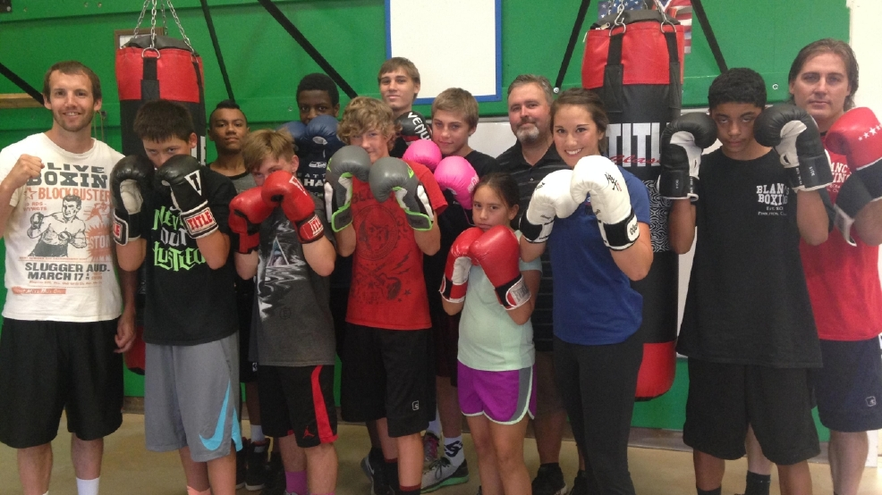 Blanc S Boxing Gets Kids Ready In The Ring Kepr