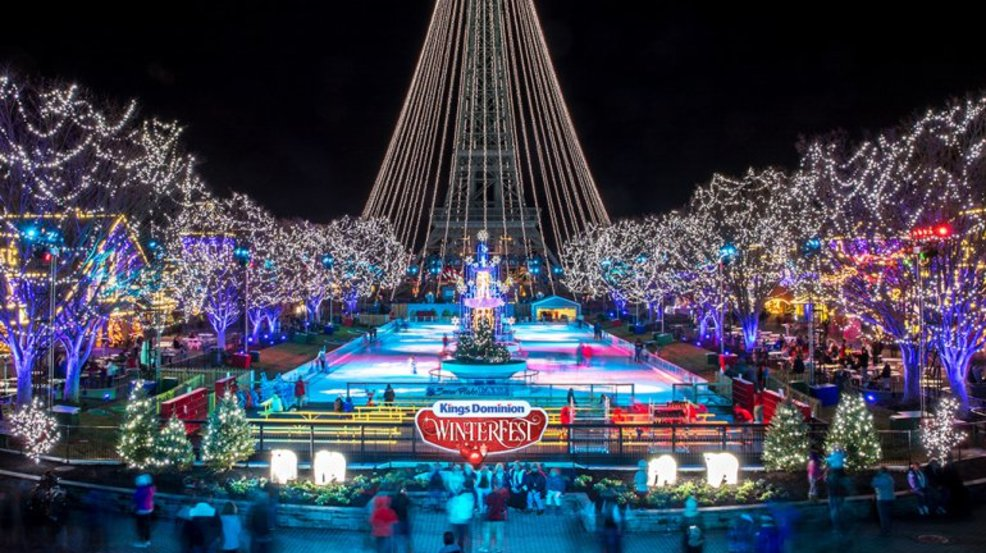 kings dominion announces first ever holiday themed winterfest - Kings Dominion Christmas