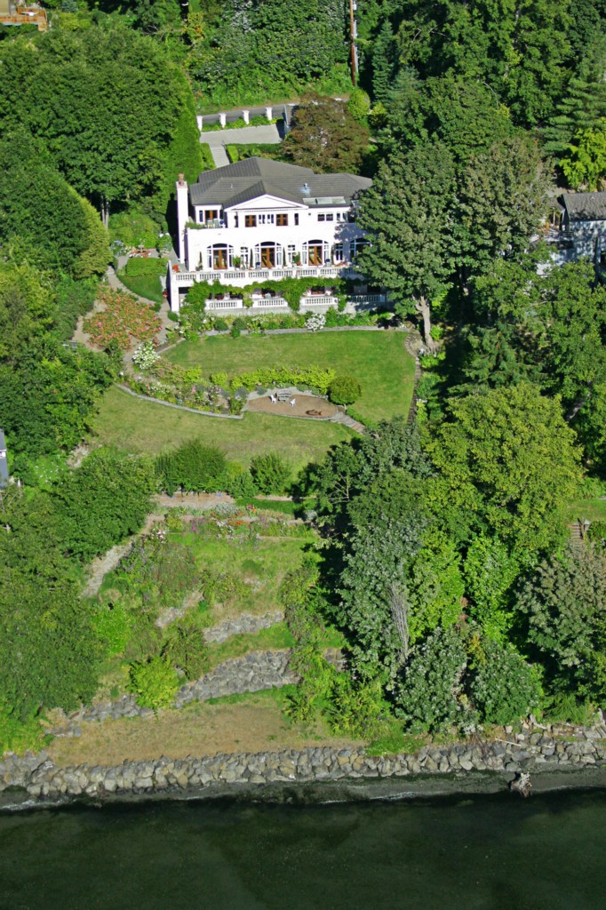Grammy-winning producer Ryan Lewis just listed his Magnolia home for $9.45M. Ryan Lewis bought the house back in January of 2014 for $3.3M. The stunning 7,610 square foot property features beautiful views of Puget Sound, four bedrooms, three bathrooms and a whiskey bar. (Image: John G Wilbanks Photography, Inc. / Windermere)