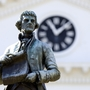 'Racist + rapist' scrawled on UVa's Thomas Jefferson statue