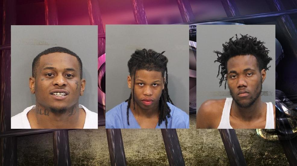 3 charged after Chattanooga police chase, including man convicted of