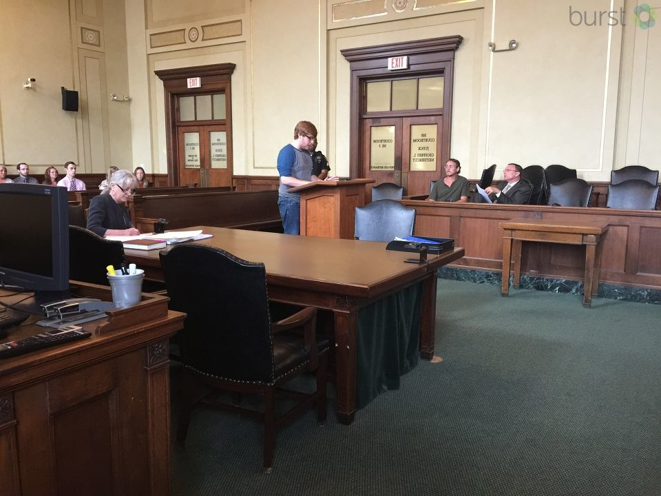 Sentencing takes place in Genesee County for a Clayton Township man accused of molesting four family members all under the age of 13. (Photo Credit: Shawn Coleman)
