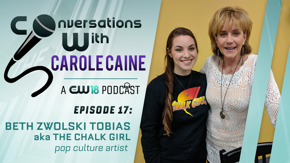 Conversations with Carole Caine| Episode 19: the Chalk Girl