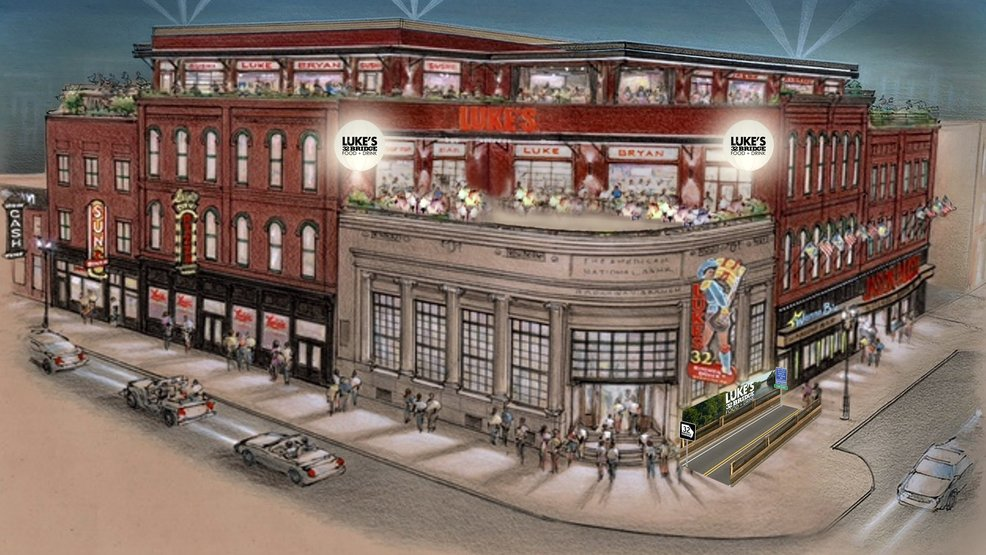 luke bryan s new nashville bar on lower broadway opening this month