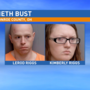 Two arrested for manufacturing meth out of their home in Beallsville