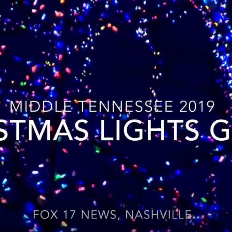 LIST: Middle Tennessee Christmas Lights