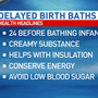 Central Illinois hospital offers delayed baths for newborns
