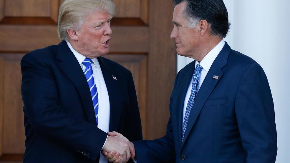 Mitt Romney and Donald Trump? 'It's really complicated'