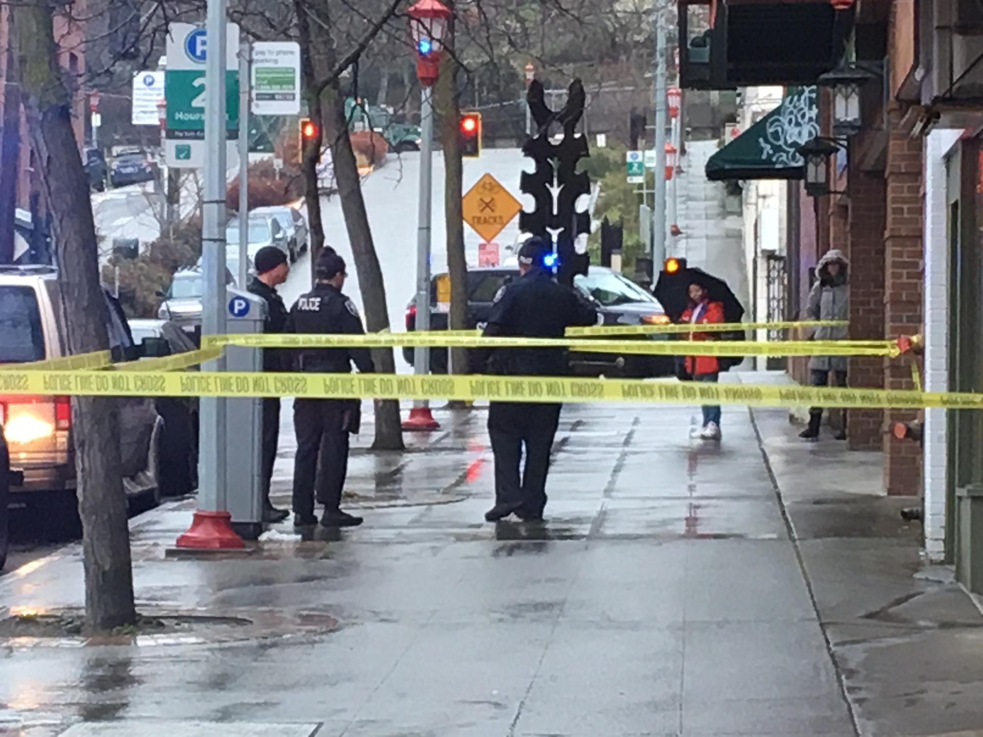 2 people were stabbed Thursday, March 8, 2018, at Hing Hay Park in Seattle's International District. (Photo: KOMO News)