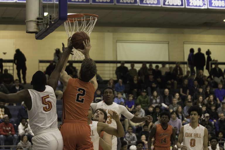 Climbing the hill too much for Ensworth as Oak Hill Academy wins, 61-87.