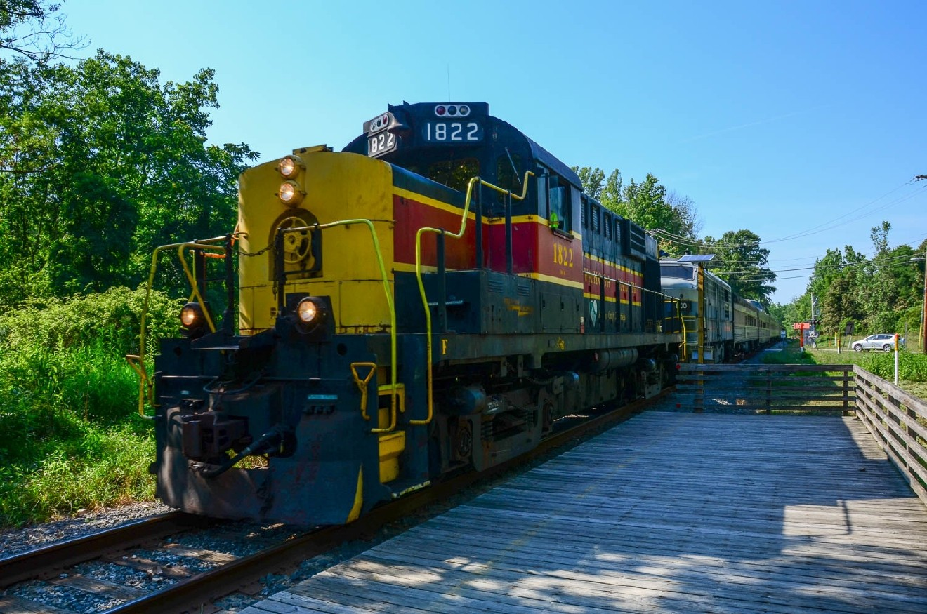 1. PLACE: Cuyahoga Valley Scenic Railroad / WHAT'S THERE: Located in northeast Ohio, this railroad experience is long, storied, and (as the name suggests) scenic. / DISTANCE: 243 miles / DRIVE TIME: 3 hour 38 minutes / IMAGE: Sherry Lachelle Photography / PUBLISHED: 12.4.16