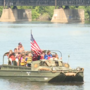 You can ride on a Word War II landing craft in South Bend