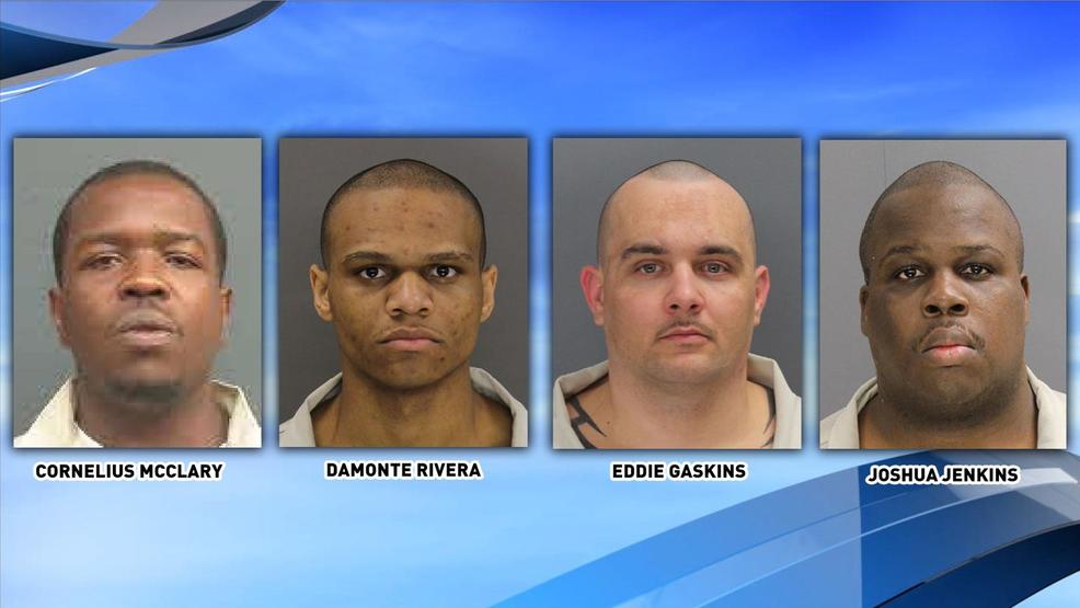 Four of seven inmates killed in Lee Correctional Institution had Lowcountry ties. They are (L-R) Cornelius McClary, Damonte Rivera, Eddie Gaskins and Joshua Jenkins (SCDC).jpg