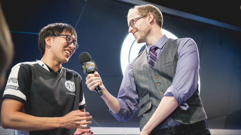 Meet the man who has traveled the world commentating for esports