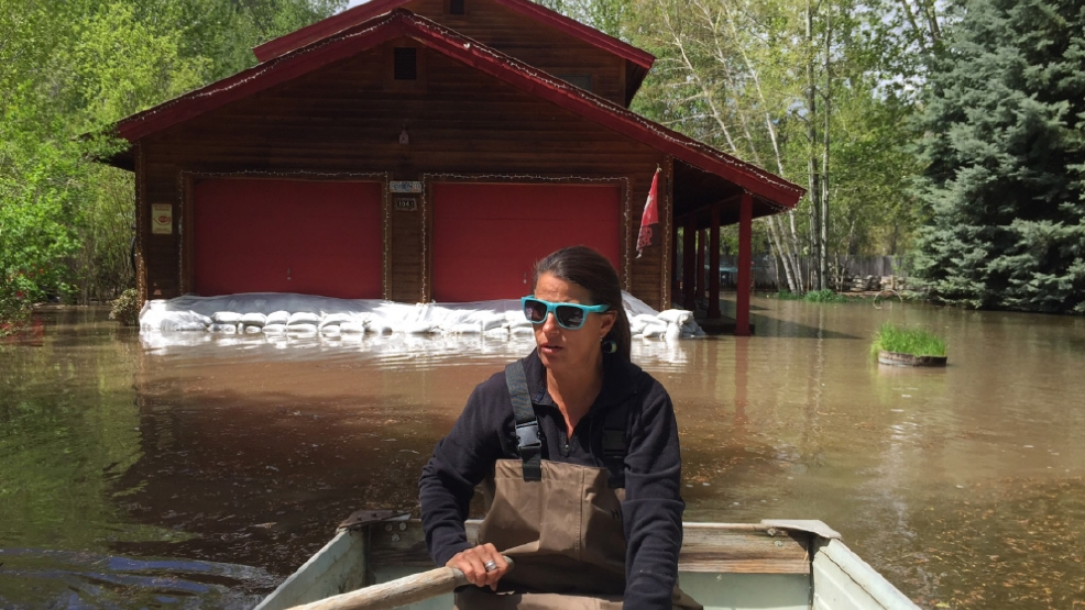 Watch Hailey Homeowner Gives Tour Of Flooded Property By