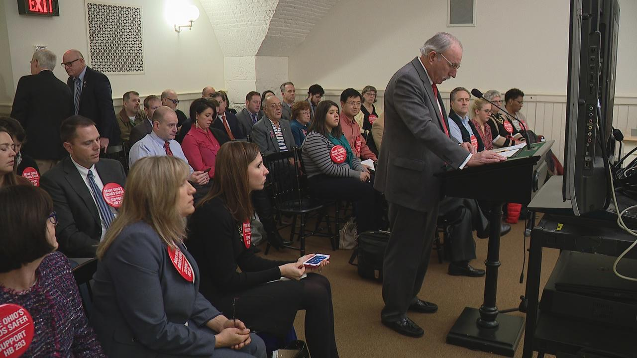 Several parents who lost a child to a car accident testified they want young drivers to have as much training as possible before they hit the road on their own. (WSYX/WTTE)