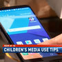 Experts recommend limiting children's screen time